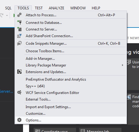 Configure Visual Studio 2012 To Connect Your Team Foundation Server 2010 Proxy