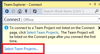 How To: Configure Visual Studio 2013 to Connect to Team
