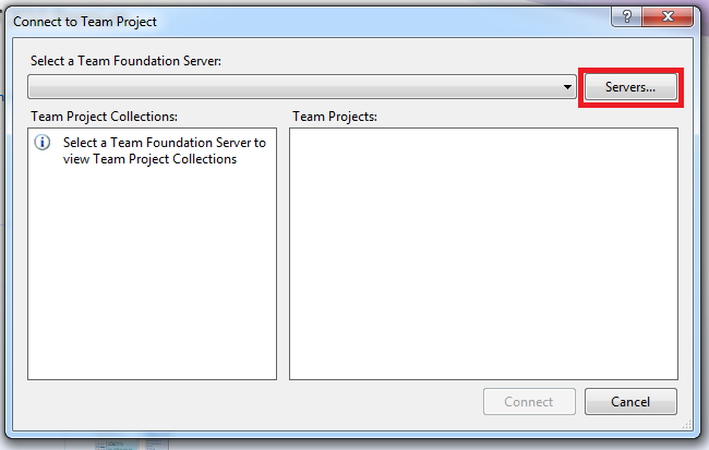 How To: Configure Visual Studio 2010 to Connect to Team
