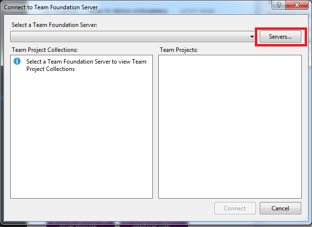 How To: Configure Visual Studio 2012 to Connect to Team